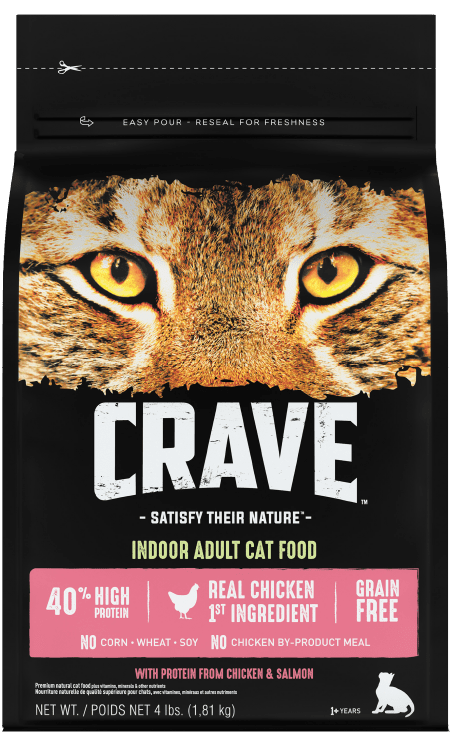crave dry cat food chicken