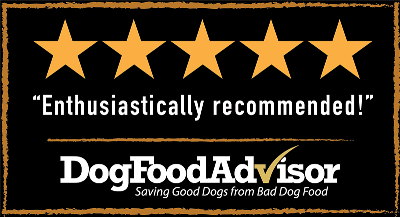 Dog Food Advisor Enthusiastically recommended!