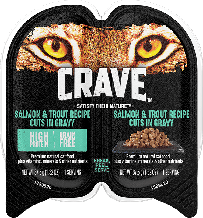 crave salmon and trout cat food
